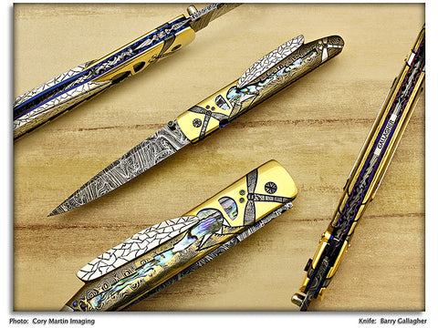 Gallagher, Barry - Dragonflies Integral - Linerlock Folder