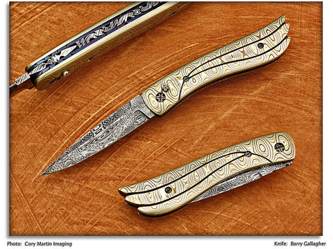 Gallagher, Barry - Hummingbird Integral Frame Automatic - LinerLock Folder