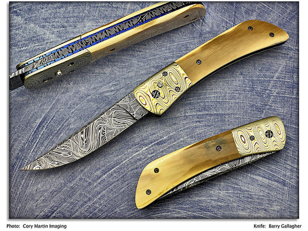 Gallagher, Barry - Mammoth Ivory Persian Automatic - LinerLock Folder