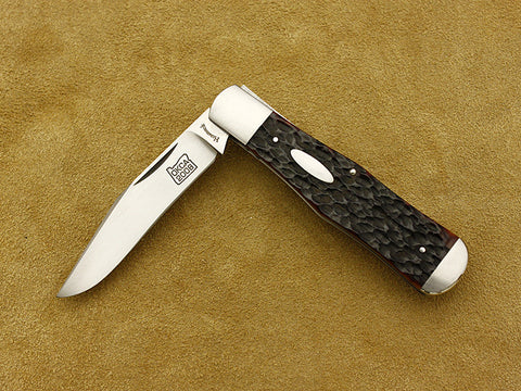 2008 OKCA Club Knife - Humenick, Roy - Jigged Bone Coke Bottle - Slipjoint Folder