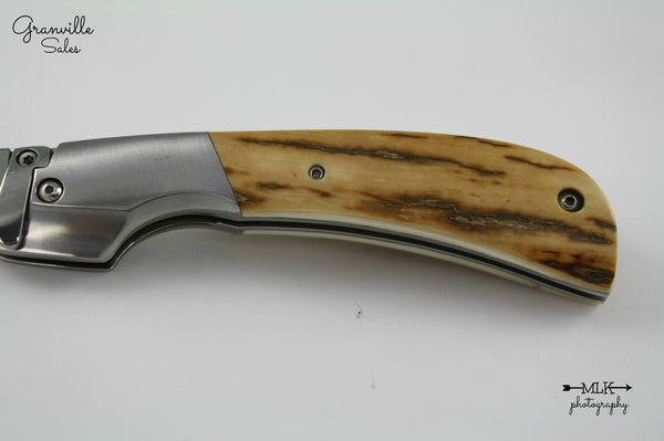 Johnson, R.B. - Mammoth Ivory Bolster Release Auto - BolsterLock Folder