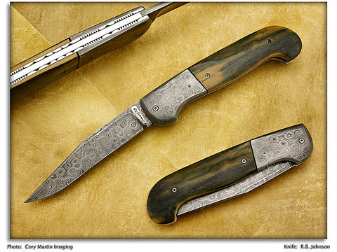 Johnson, R.B. - Mammoth Ivory Scale Release Auto - ScaleLock Folder