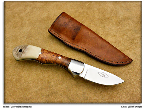 Bridges, Justin - Shoshone Pack Knife Utility Hunter - Fixed Blade