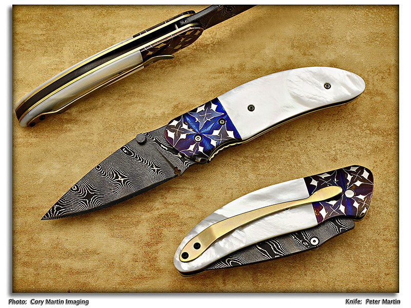 Martin, Peter - Pearl CEO Assisted Opener - LinerLock Folder