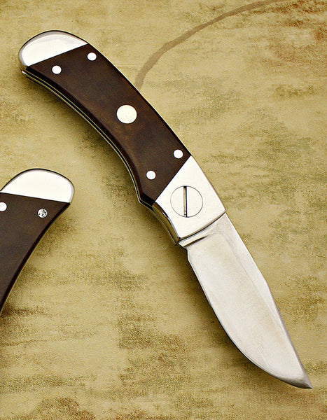 SwingLock, Barry B. Wood Design – Ironwood Inlay Interframe Folder