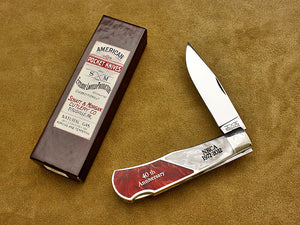 Mountain Man Pocketknife - Lockback Folder - 2012 NKCA 40th Annv. Club Knife