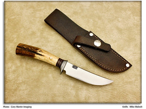 "Malosh, Mike - 4"" Scagel Style Hunting Knife"