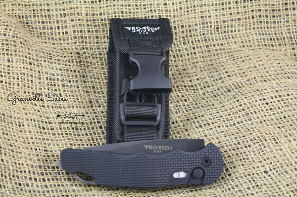 Tactical Response 4 - Alum. Automatic Drop Point - ButtonLock Folder