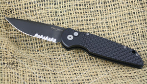 Tactical Response 3 - Alum. Automatic Drop Point - ButtonLock Folder