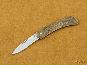 Rodeo (Granville Sales) Advertising Knife - Lockback Folder - Plain Edge