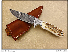 Weinand, Gerome - Elk Antler Hunter - Fixed Blade - '10 MKA Club Knife
