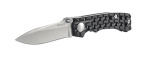 Go-N-Heavy - Aluminum Drop Point w/Sheath - LinerLock Folder