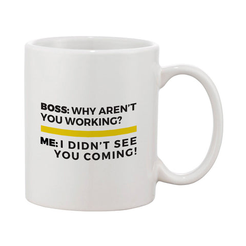 "Builder's ""Logic"" Why Aren't You Working Mug"