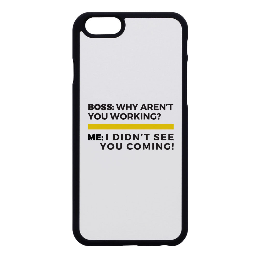 "Builder's ""Logic"" Why Aren't You Working Phone Case"