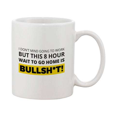 "Builder's ""Logic"" 8 Hour Wait Mug"