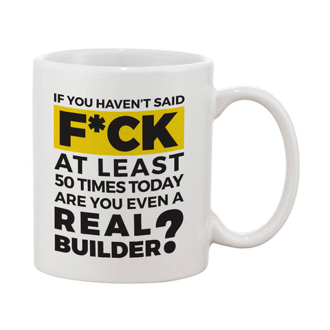 "Builder's ""Logic"" Are You a Real Builder Mug"