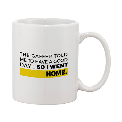 "Builder's ""Logic"" Have a Good Day Mug"