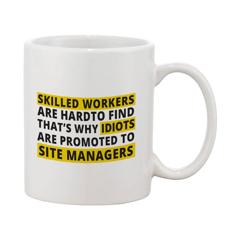 "Builder's ""Logic"" Skilled workers Mug"