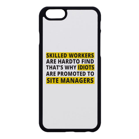 "Builder's ""Logic"" Skilled workers Phone Case"