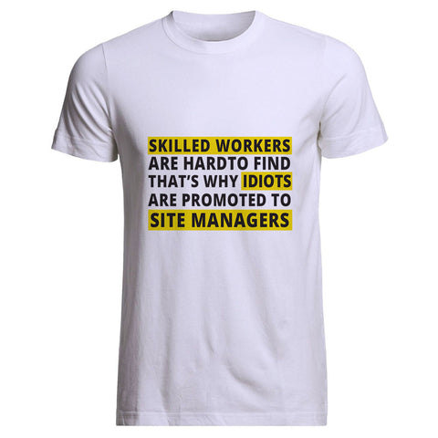 "Builder's ""Logic"" Skilled workers Tee"