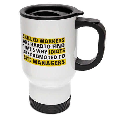"Builder's ""Logic"" Skilled workers Travel Mug"