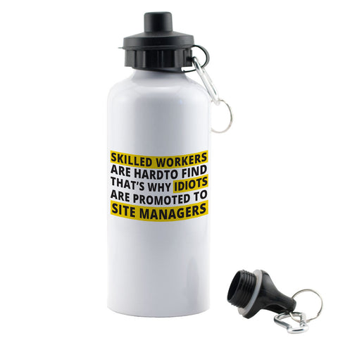 "Builder's ""Logic"" Skilled workers Water Bottle"