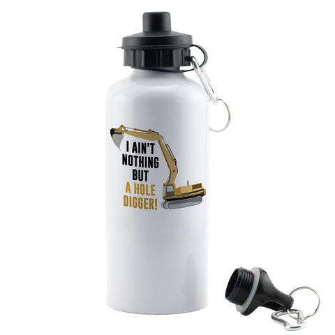 Digger Driver Water Bottle