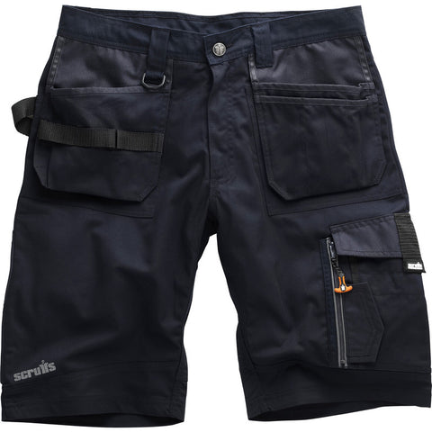 Scruffs Ink Blue Trade Shorts