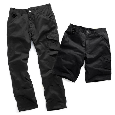 Scruffs Worker trouser and Shorts Pack