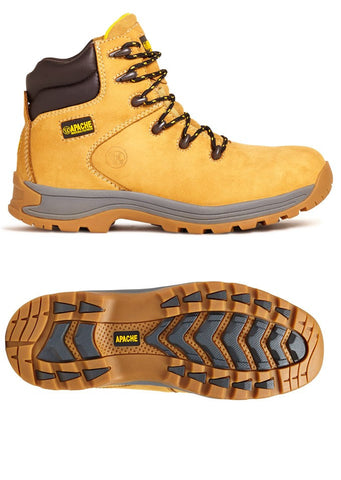 Apache AP314CM Safety Work Boot Honey