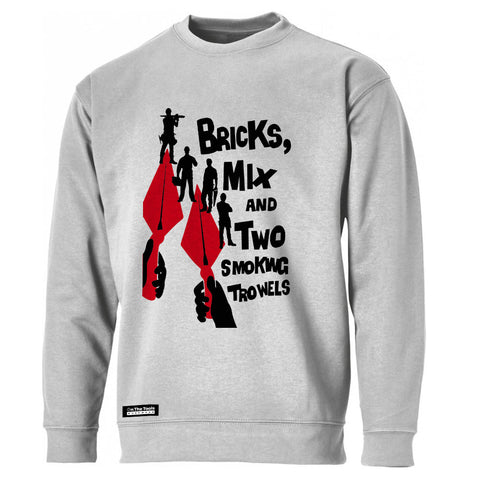 Two Smoking Trowels Sweatshirt