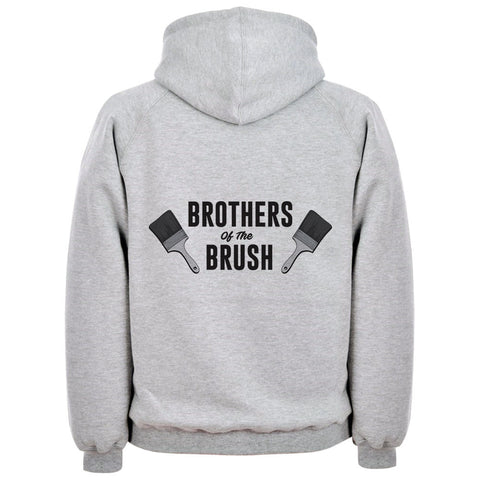 Brothers Of The Brush Painters Hoodie