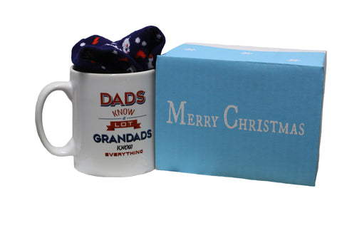 Dads Know A Lot Grandads Know Everything Gift Set
