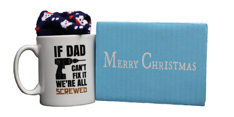 If Dad Can't Fix It We're All Screwed Gift Set