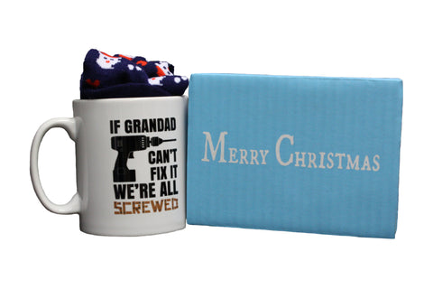 If Grandad Can't Fix It We're All Screwed Gift Set