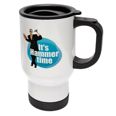 Hammer Time Travel Mug