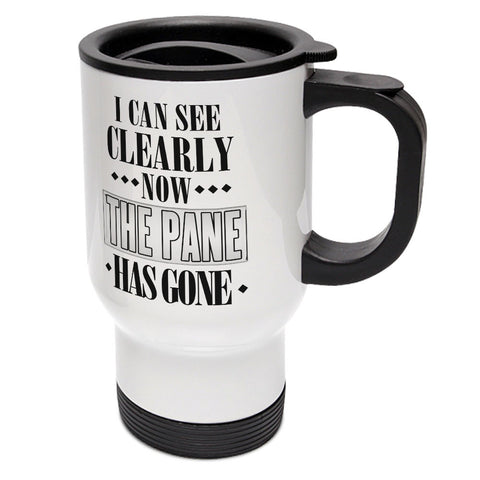 I Can See Clearly Now Travel Mug