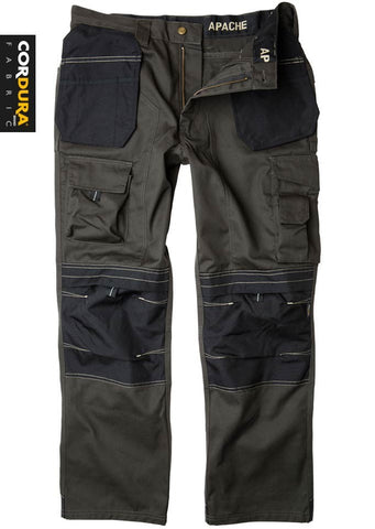 Apache Holster Pocket Workwear Trouser Black/Grey