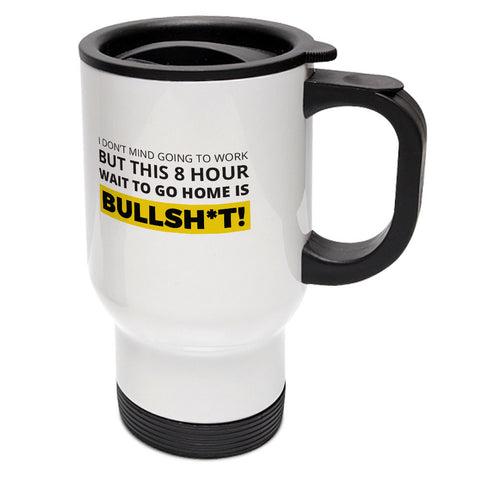 "Builder's ""Logic"" 8 Hour Wait Travel Mug"