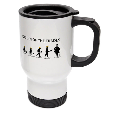Origin Of The Trades Travel Mug
