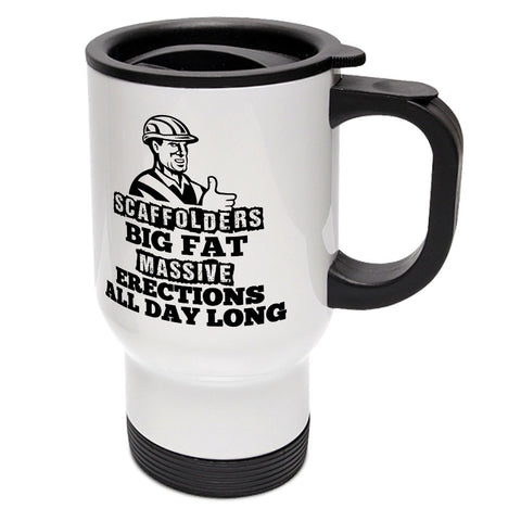 Scaffolders Erection Travel Mug