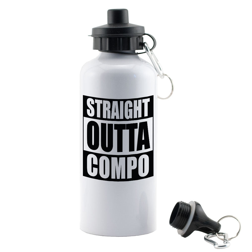 Straight Outta Compo water bottle