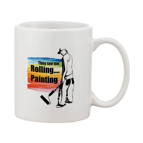 They See Me Rolling Mug