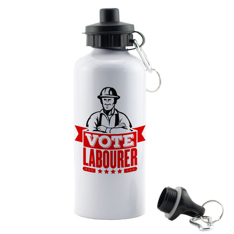 Vote Labourer Water Bottle