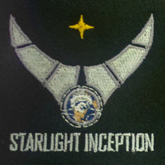 Starlight Inception Logo Black- Flex Fit Cap