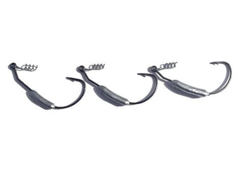 WEIGHTED SWIMBAIT HOOKS - TUFFBAIT  - 1
