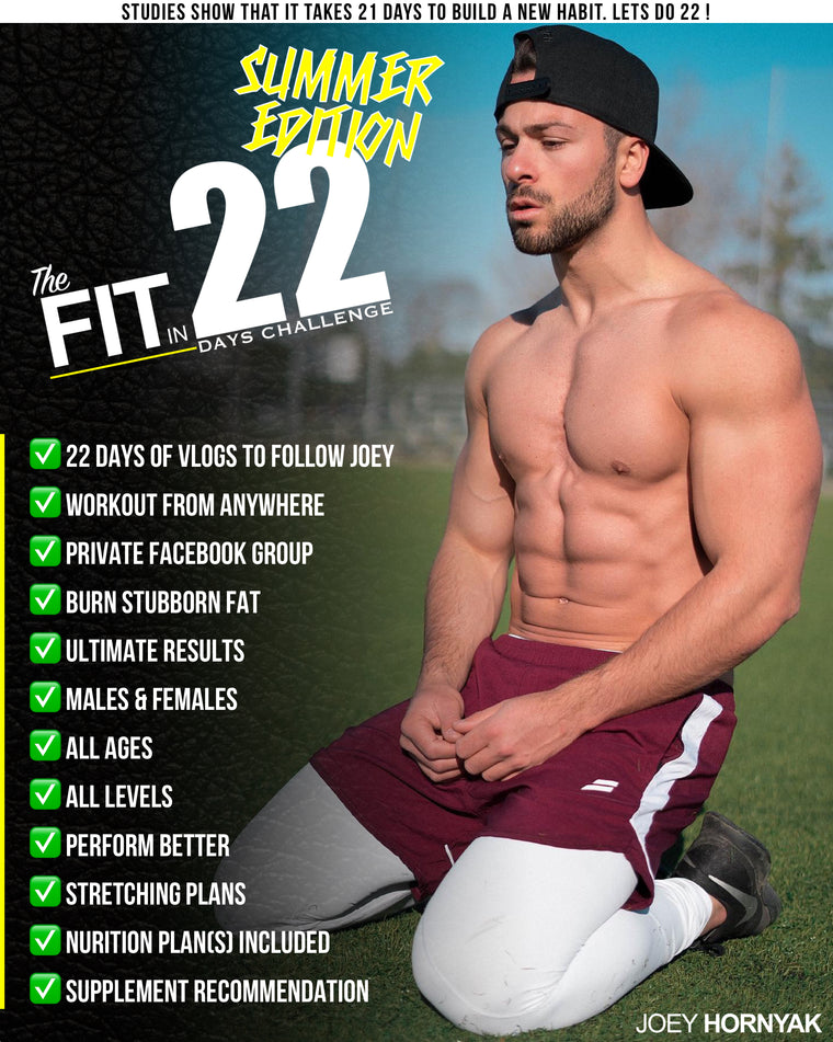The FIT in 22 Days CHALLENGE (SUMMER EDITION)
