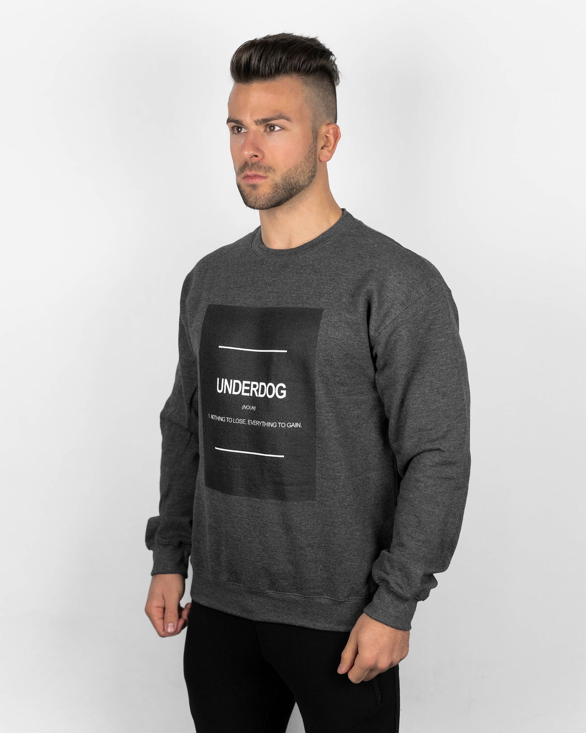 UNDERDOG Definition Sweatshirt - Dark Heather