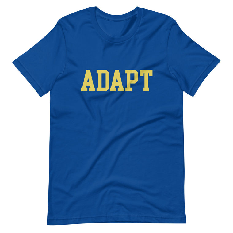 ADAPT SCHOLAR TEE - ROYAL BLUE
