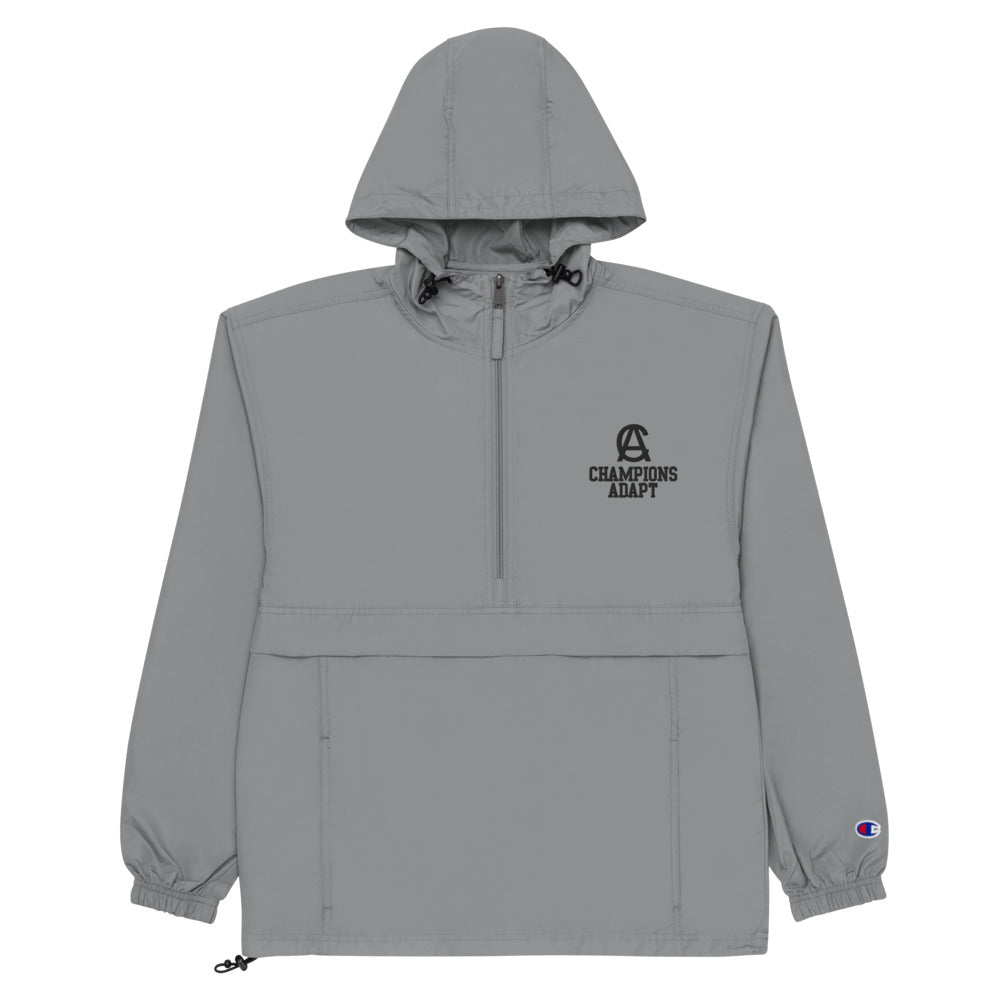 Embroidered Champions Adapt Academy Jacket - Graphite